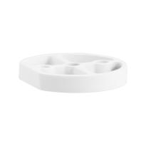 Deurstopper verhogingsschijf 10 mm wit GPF8731.62