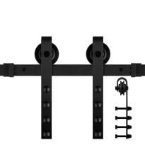 GPF0501.61 schuifdeursys. Raskas zwart