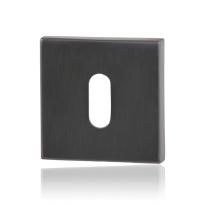 GPF0901.02P1 sleutelrozet 50x50x8mm PVD antraciet