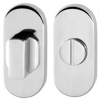 GPF0903.44 toiletgarnituur 70x32mm stift 8mm RVS gepolijst
