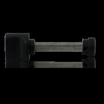 GPF8110.61 toiletgarnituur stift 8mm zwart