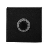 GPF8826.02 deurbel vierkant 50x50x8 mm zwart