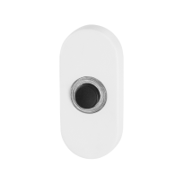 GPF8826.44 deurbel ovaal 70x32x10 mm wit