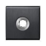 GPF1100.02P1 rozet 50x50x8mm PVD antraciet
