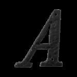 Landelijke huisnummer letter 'A', 101 mm