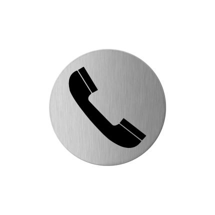 GPF0425.09 pictogram telefoon rond