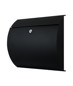 Zwarte brievenbus