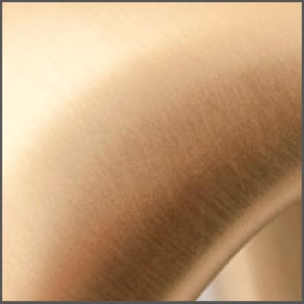 Detail finish PVD satijn