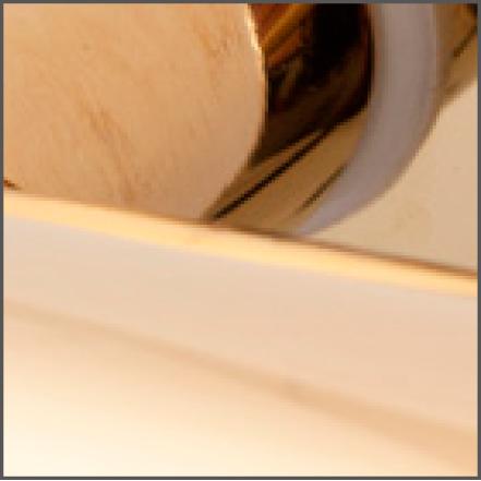 Detail finish PVD titanium