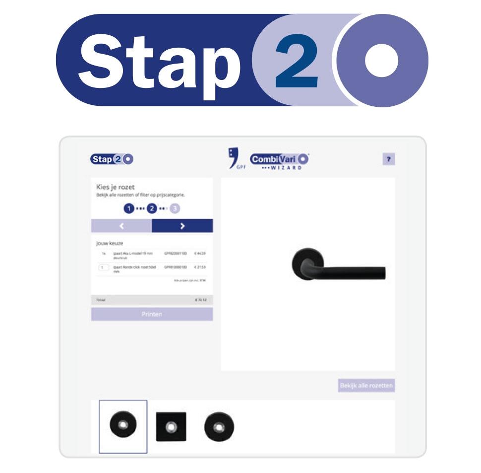 GPF CombiVari stap 2: kies uw rozet of schild