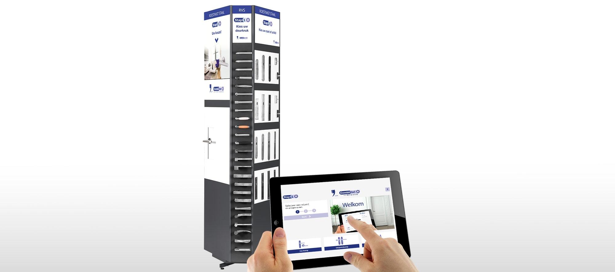 GPF CombiVari display en de online GPF Wizard