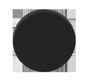 GPF zwart excentrische deurknop