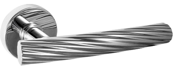 Deurkruk op rozet Fusilla