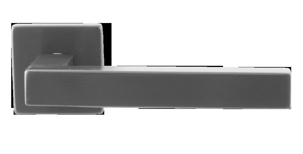 GPF deurkruk op rozet PVD antraciet