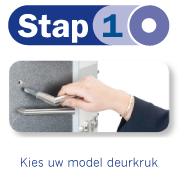 Stap 1: Kies uw model deurkruk
